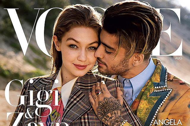 Джиджи Хадид и Зейн Малик вместе снялись для обложки Vogue