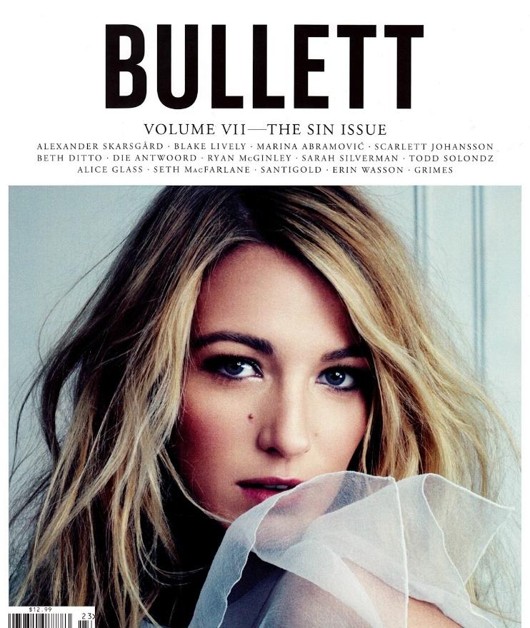 Блэйк Лайвли в журнале Bullett. Лето 2012