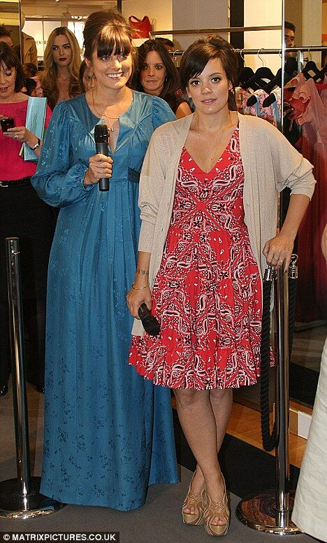 Лили Аллен представила новую коллекцию Lucy In Disguise в Дублине