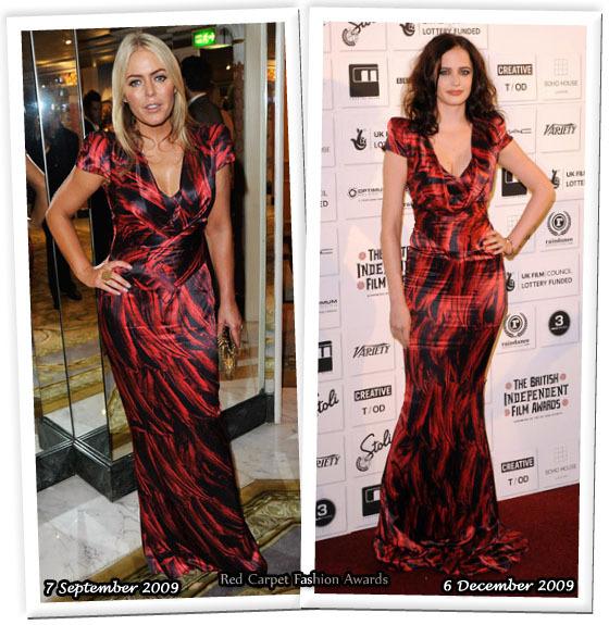 Fashion battle: Пэтси Кенсит и Ева Грин
