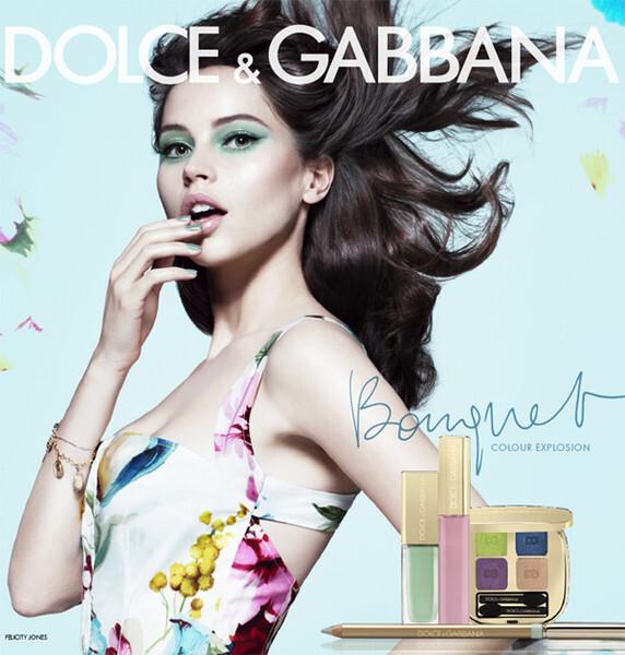 Новая коллекция декоративной косметики Dolce & Gabbana Bouquet. Весна 2012
