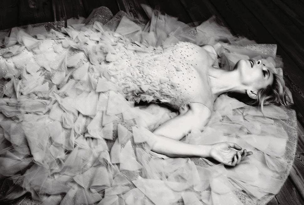Кейт Бланшетт в журнале Harper's Bazaar Великобритания. Декабрь 2013