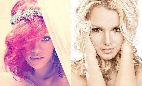 Рианна и Бритни Спирс - S&M Remix