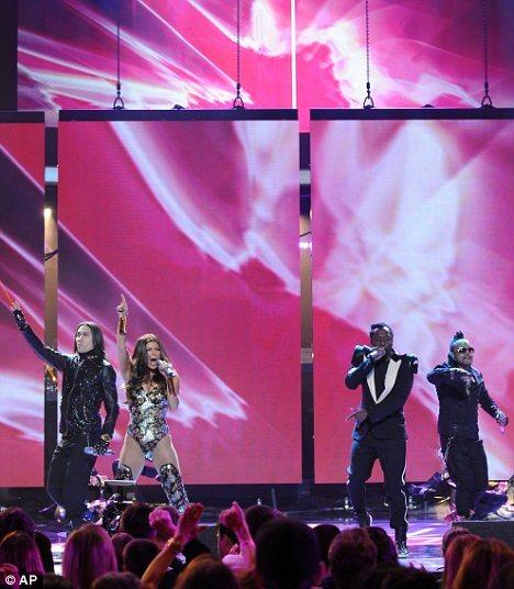 Black Eyed Peas на шоу American Idol