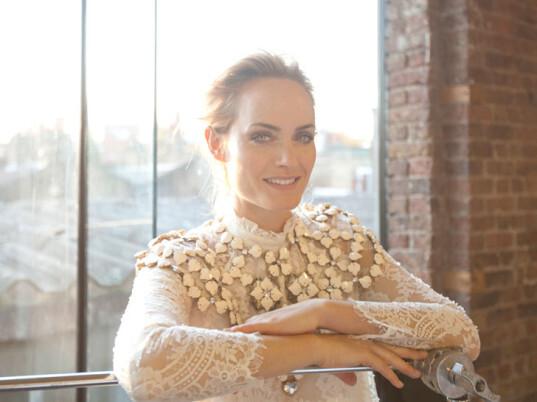 Эмбер Валлетта в рекламной кампании эко-коллекции H&M Conscious 2014: первый взгляд
