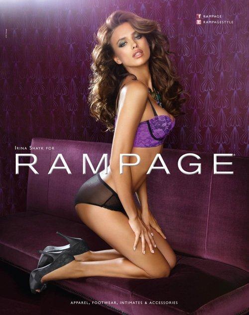 Ирина Шейк в рекламной кампании Rampage