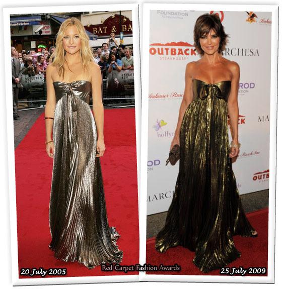 Fashion battle: Кейт Хадсон и Лайза Рина