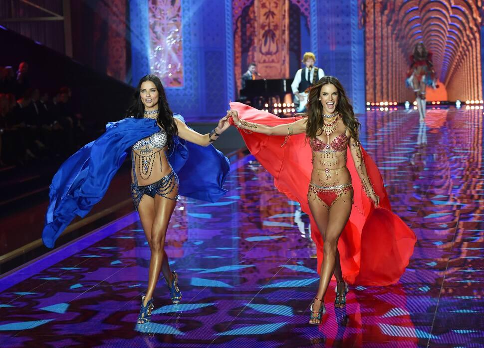 Модный показ Victoria's Secret 2014. Часть 1