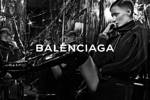 Жизель Бундхен в рекламной кампании Balenciaga: первый взгляд