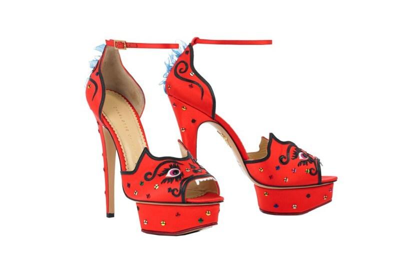 Коллекция обуви и акссесуаров Charlotte Olympia RTW Осень 2014