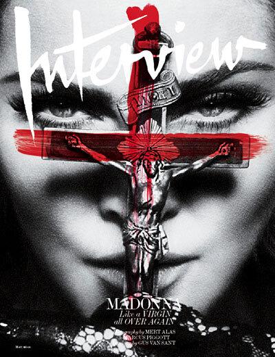 Мадонна в журнале Interview. Май 2010