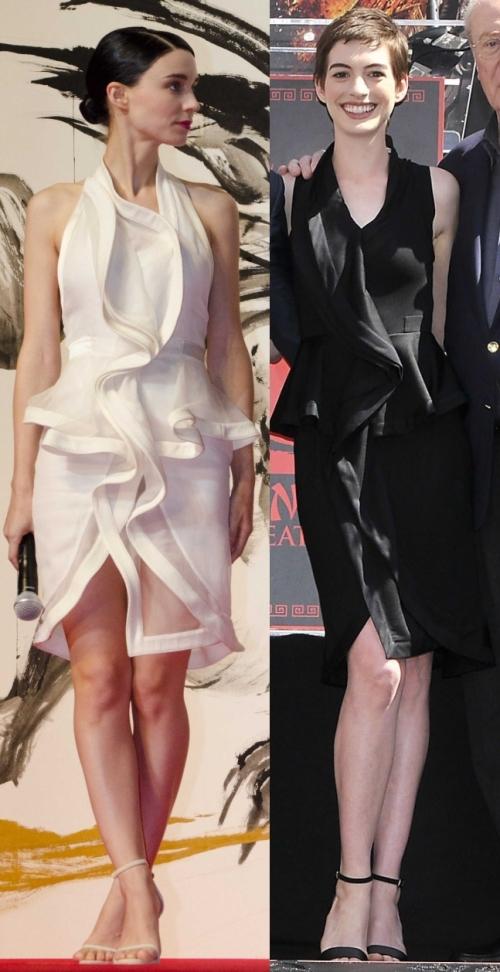 Fashion battle: Руни Мара и Энн Хэтэуэй