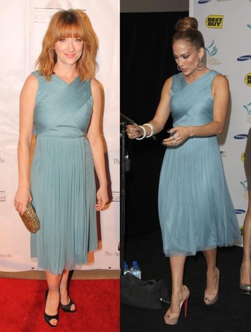 Fashion battle: Джуди Грир и  Дженнифер Лопес