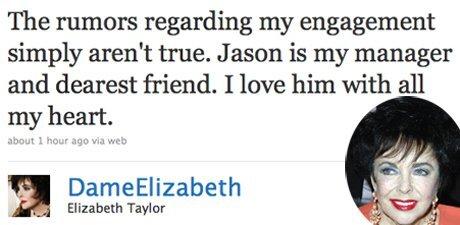 Элизабет Тэйлор не собирается замуж