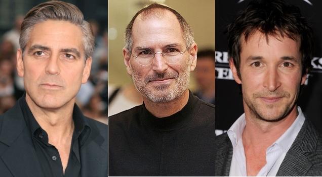 Джордж Клуни и Ноа Уайли сыграют в байопике о Стиве Джобсе?
