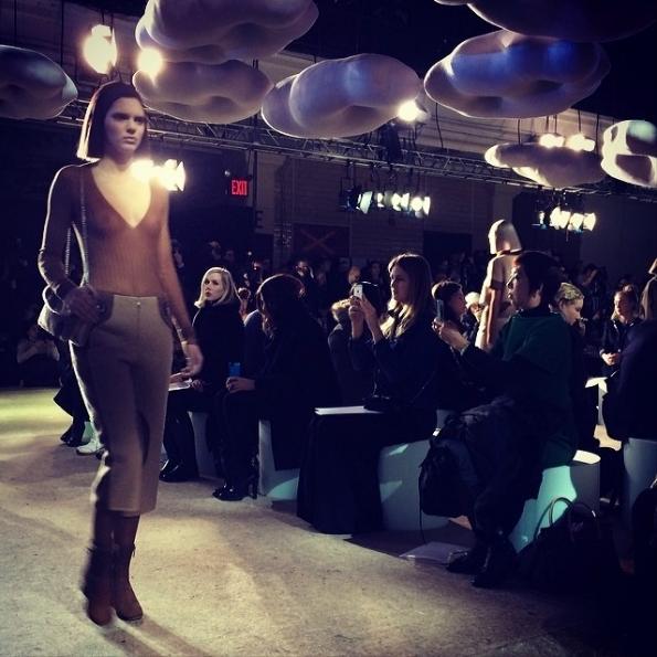 Модный показ новой коллекции Marc Jacobs. Осень / зима 2014