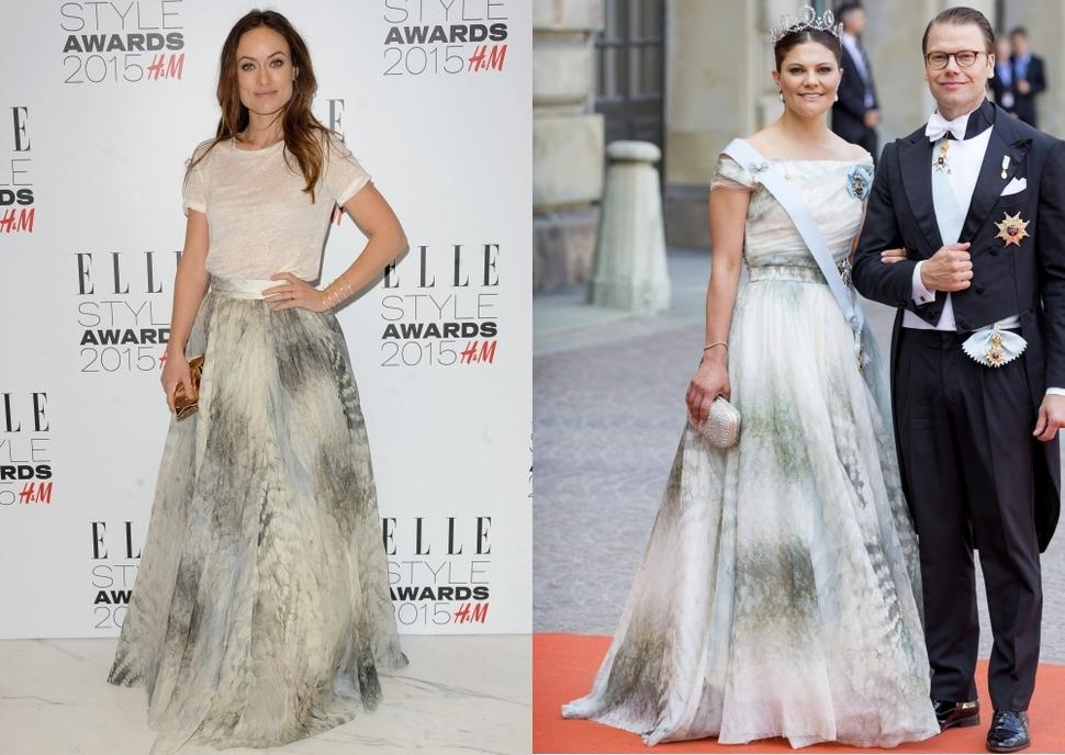 Fashion battle: Оливия Уайлд и принцесса Виктория
