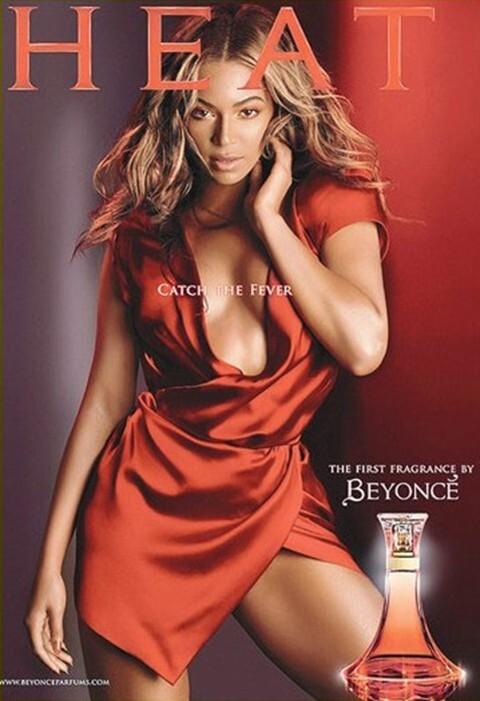 Реклама парфюма от Бейонсе