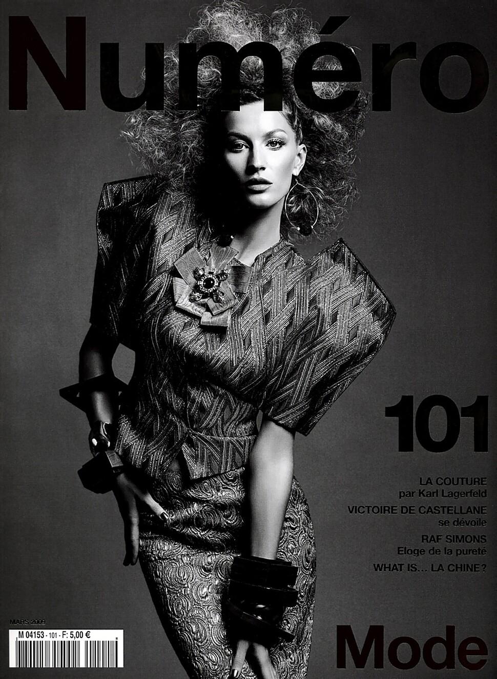 Жизель Бундхен в журнале Numero 101. Март 2009