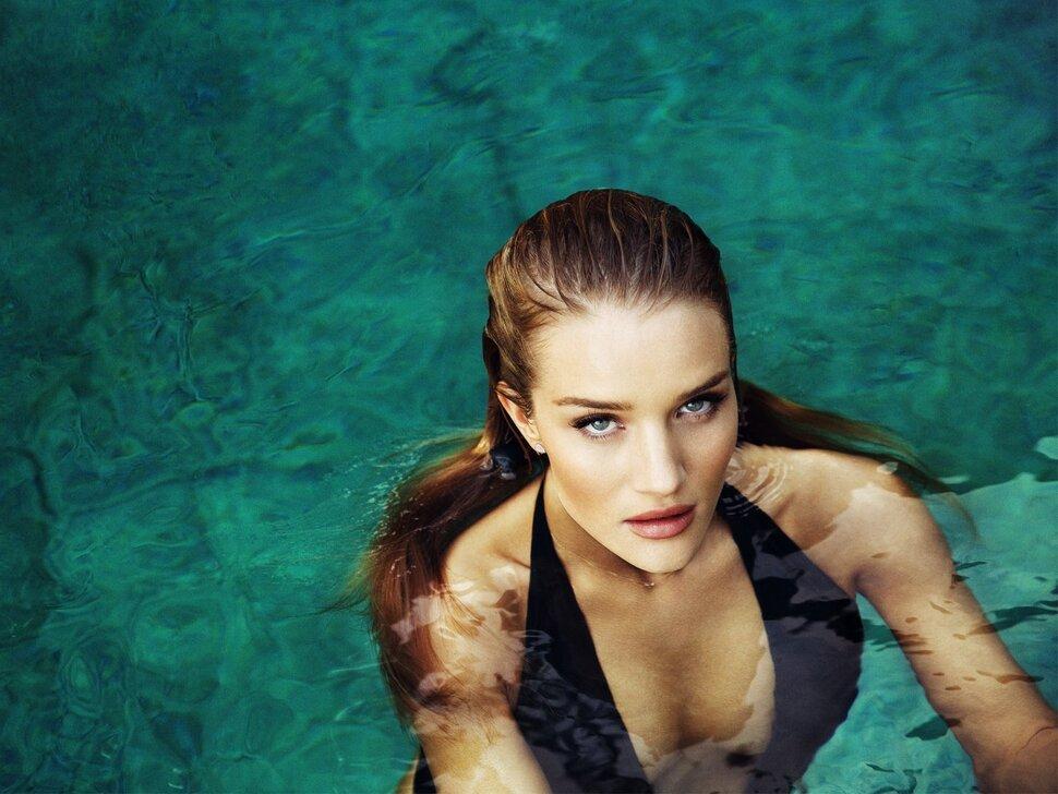 Роузи Хантингтон-Уайтли в журнале  Esquire Великобритания. Апрель 2015