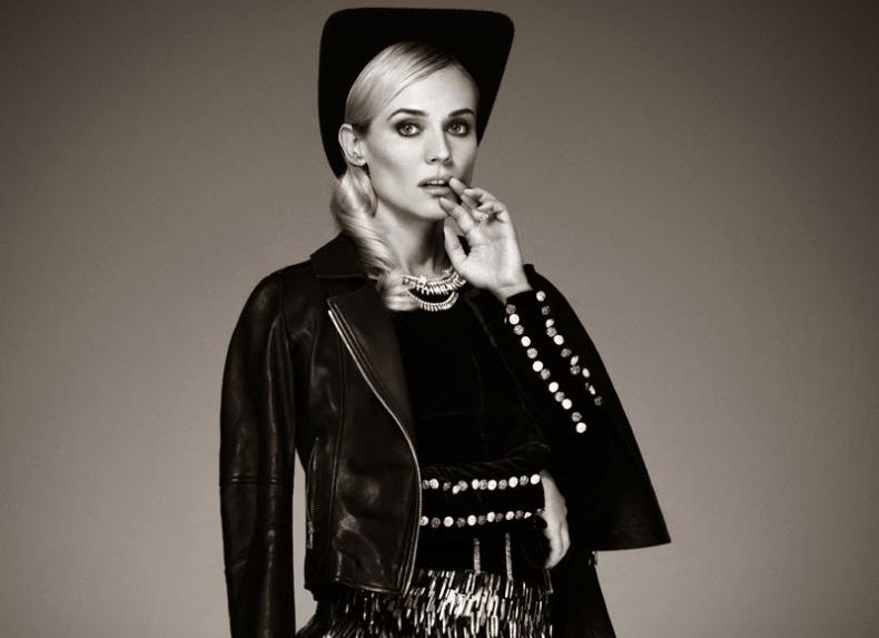 Диана Крюгер в журнале Glamour Франция. Ноябрь 2013