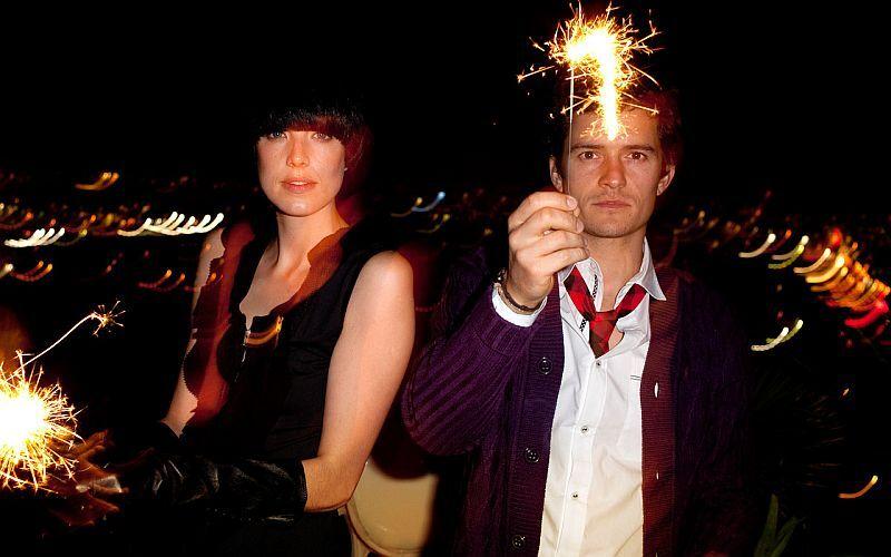 Агнесс Дин и Орландо Блум в рекламной кампании Весна 2010 Me & City
