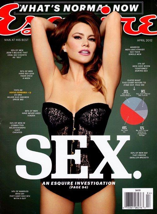 София Вергара в журнале Esquire. Апрель 2012
