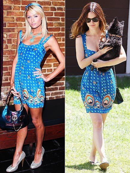 Fashion battle: Пэрис Хилтон и Рэйчел Билсон
