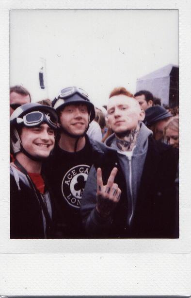 Дэниэл Рэдклифф и Руперт Гринт на Reading Festival