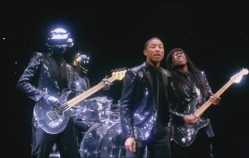 Тизер нового клипа Daft Punk feat. Pharrell Williams - Get Lucky