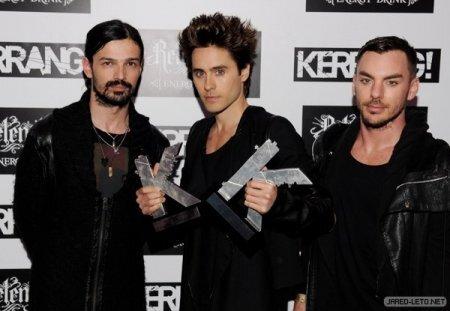 30 Seconds To Mars на премии Kerrang