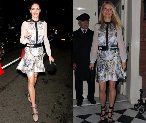 Fashion battle: Хилари Рода и Гвинет Пэлтроу