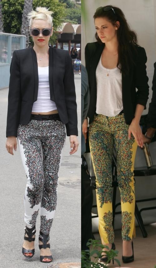 Fashion battle: Гвен Стефани и Кристен Стюарт