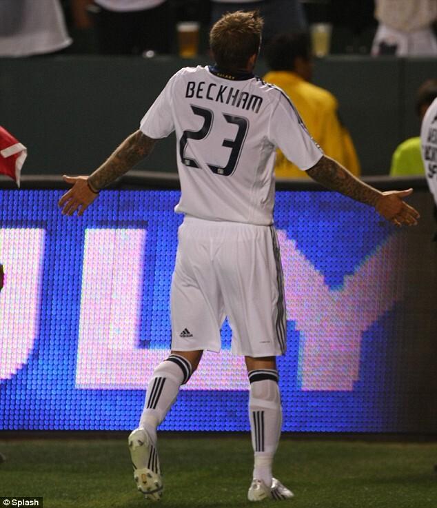 Фанаты LA Galaxy не любят Дэвида Бэкхема