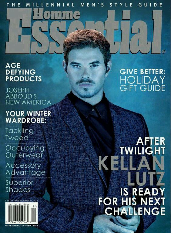 Келлан Латс в журнале Essential Homme. Ноябрь / декабрь 2012