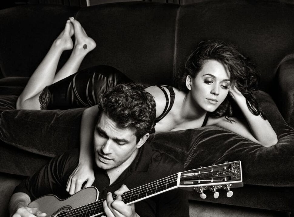 Промо-фото совместного сингла Кэти Перри и Джона Майера Who You Love