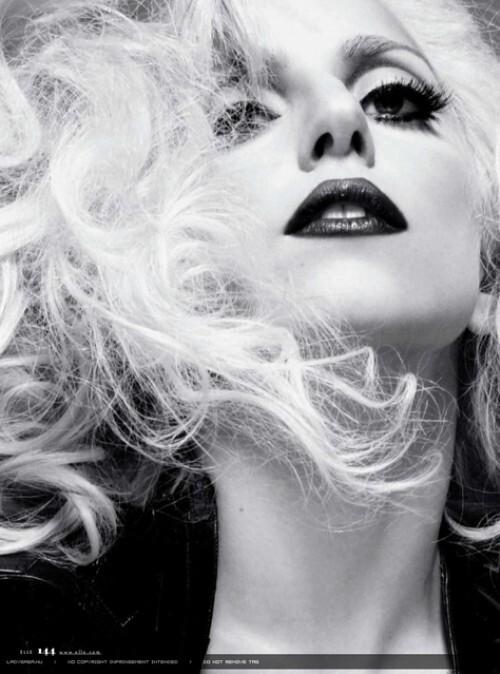 Видео: Lady Gaga на съемках для журнала Elle