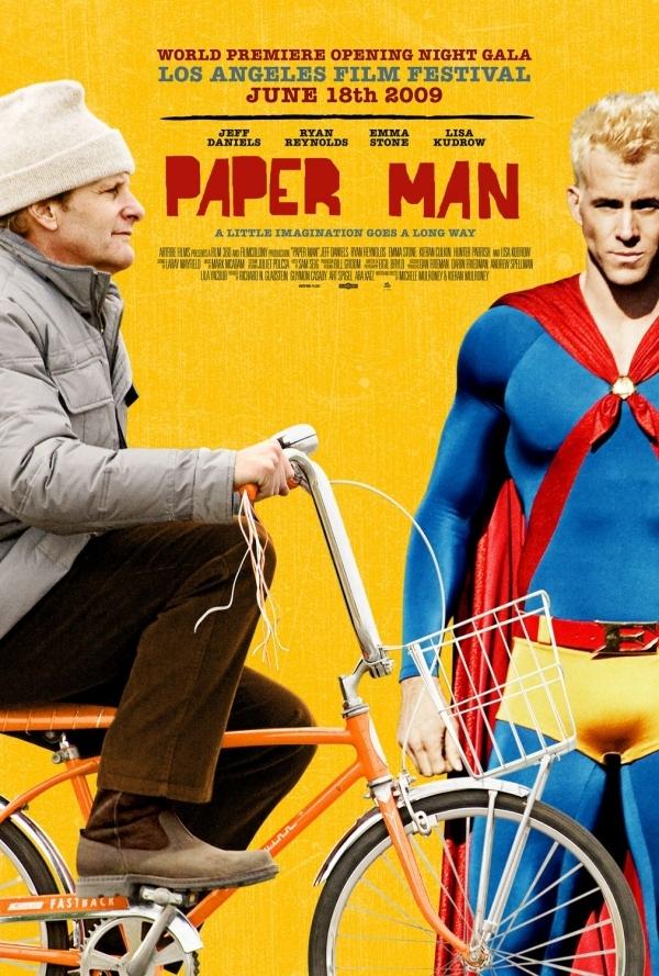 Трейлер к фильму «Бумажный человек»