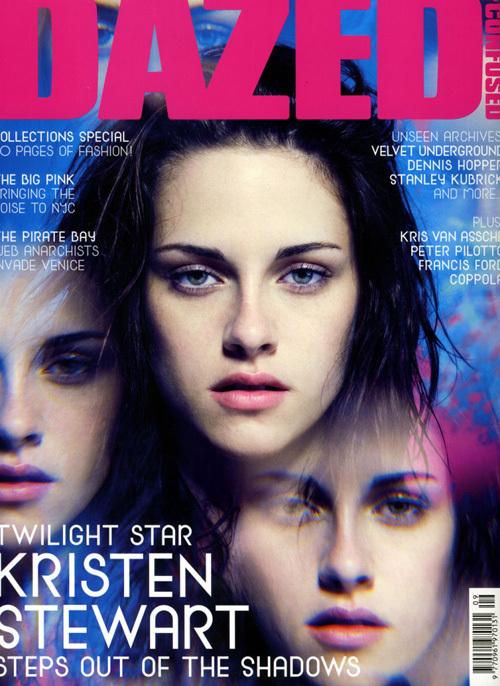 Кристен Стюарт в журнале Dazed.Сентябрь 2009