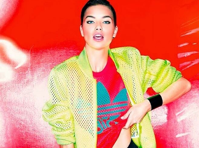 Адриана Лима в журнале Vogue Япония. Март 2014