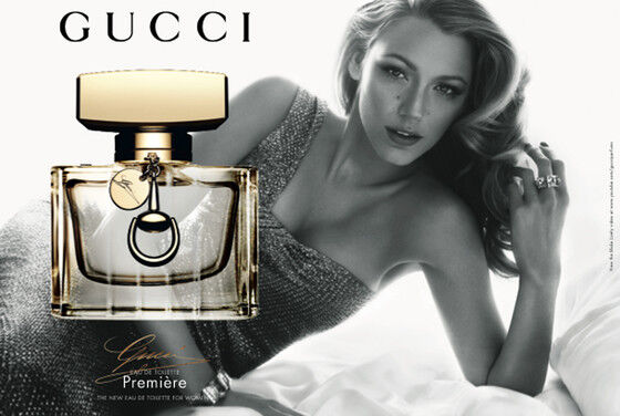 Блейк Лайвли в рекламе аромата Gucci