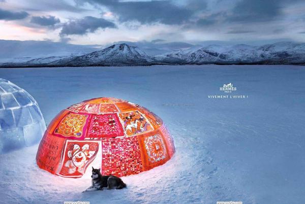 Рекламная кампания Hermes Осень 2009 / Зима 2010