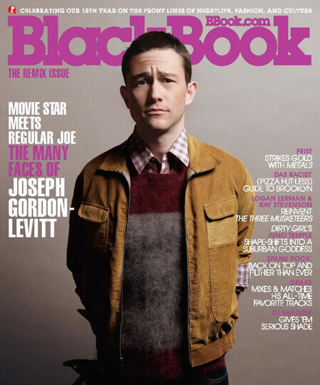 Актер Джозеф Гордон-Левитт в журнале BlackBook