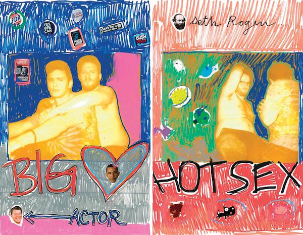 Романтические фото Джеймса Франко и Сета Рогена в журнале V Man