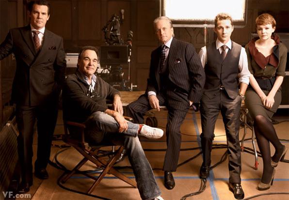 Актерский состав «Уолл-Стрит 2» в журнале Vanity Fair