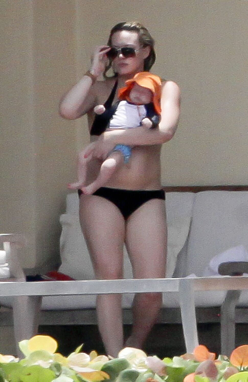 Хилари Дафф с малышом Лукой в Мексике