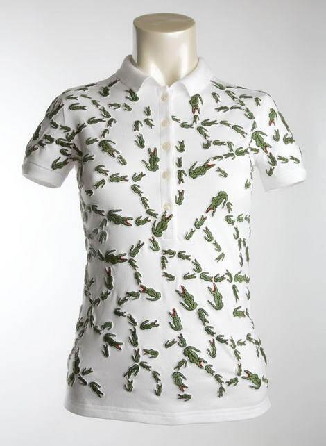 Необычные футболки Lacoste