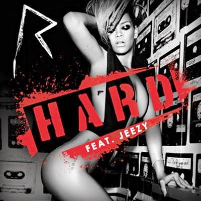 Обложка сингла Рианны «Hard»