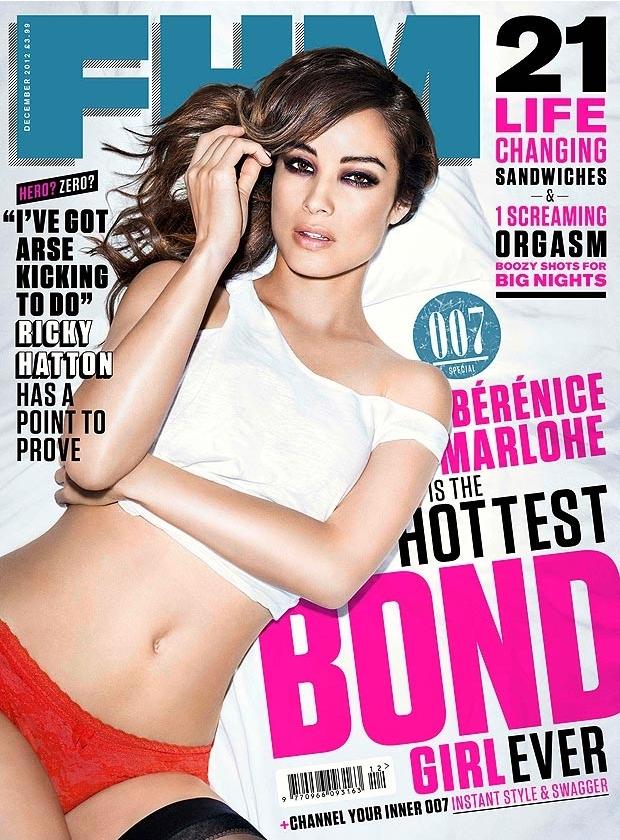 Беренис Марло в журнале FHM. Декабрь 2012