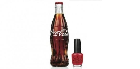 OPI и Coca-Cola выпускают совместную коллекцию лаков для ногтей